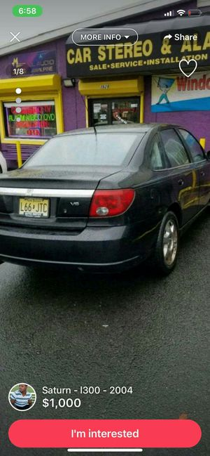 2004 Saturn L300 for Sale for sale  Morrisville, PA
