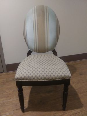 OVAL BACK UPHOLSTERY DINING/DESK/ACCENT CHAIR for Sale in Redfield, AR