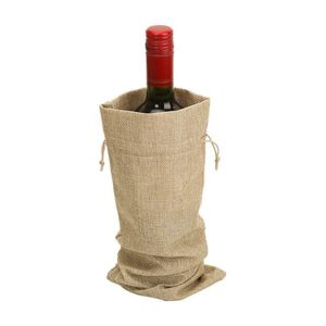 12 jute wine bags/ Gift bags for Sale in Miami, FL