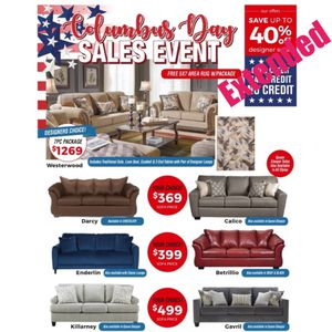 Sofa or love seat $369 $1 down no credit check financing for Sale in Massapequa, NY