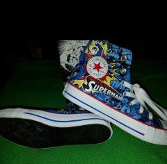 Superman converse limited adition for Sale in Cleveland, OH