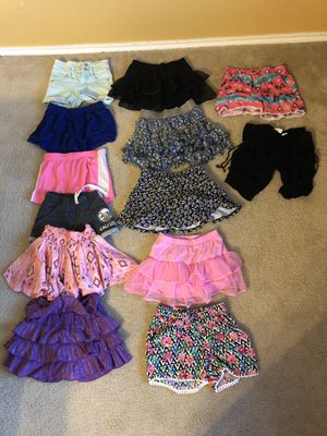 Kid Size 8 Girls Skirts and Shorts for Sale in San Antonio, TX