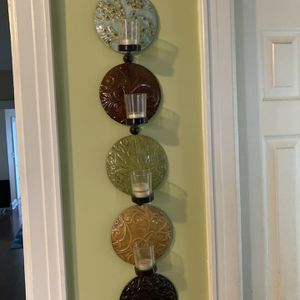 Wall Decor and Candle Holder for Sale in Queens, NY