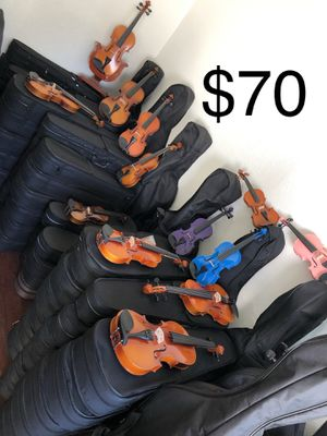 Brand new solid wood violin clearance for Sale in El Monte, CA