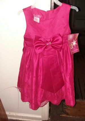 Girl dress color red size 4 new for Sale in Columbus, OH