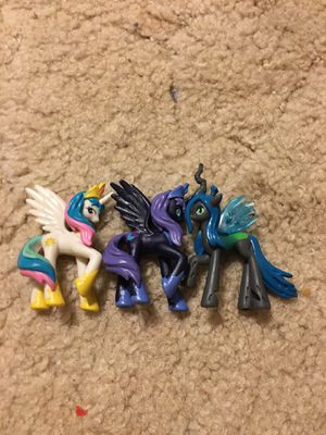 My little ponies toys for Sale in Broken Arrow, OK