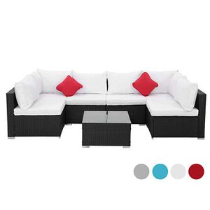 (4 colors) Brand New 7 Pcs Wicker Patio Furniture Sectional Sofa Set for Sale in Fullerton, CA
