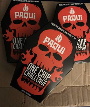 Paqui one chip challenge 2019 for Sale in Virginia Beach, VA