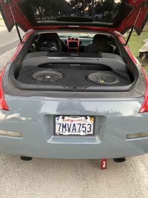 12' Kickers w 350z trunk box. for Sale in South Gate, CA