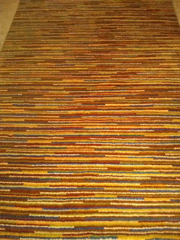 Wool rug 5x7