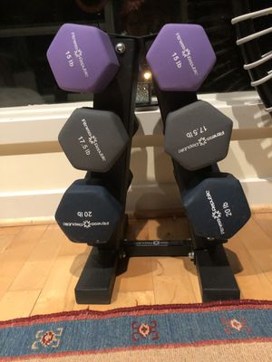 Brand new weights.. unpacked. Never used. The picture is same item but not the one for sale. for Sale in Baltimore, MD