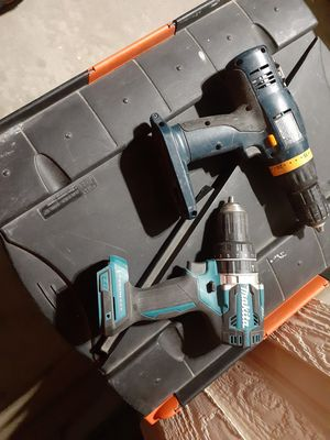 Drills makita & ryobi for Sale in Anaheim, CA