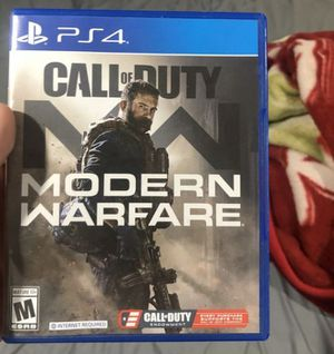 Modern Warfare Ps4 for Sale in Providence, RI