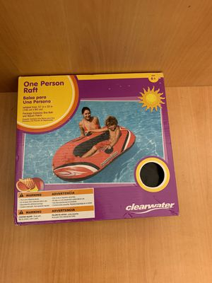 New Hydro-Force Inflatable Boat One Person Explorer Raft Pool Float for Ages 6+ for Sale in Pelham, NH
