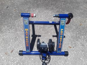 New RAD Cycle Products Max Racer PRO 7 Levels of with Smooth Magnetic Resistance Bicycle Trainer Allows You to Work Out with Your Bike $60 FIRM for Sale in Wesley Chapel, FL