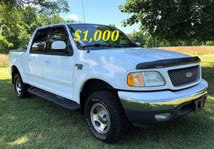 ✅💲1,OOO I'm seling URGENTLY 2OO2 Ford F-15O XLT✅ for Sale in Owings Mills, MD