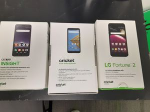 Switch to cricket and get 3 phones for free for Sale in Salisbury, MD