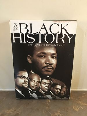 Black History 6 disc DVD collection. Excellent condition! $60 on Amazon. for Sale in Vista, CA