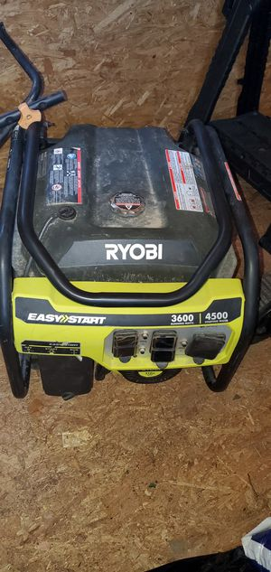 Ryobi generator 3600w for Sale in Cranston, RI