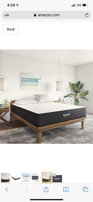 ClassiCool Ventilated Gel Memory Foam 10-Inch Mattress, King for Sale in Columbus, OH