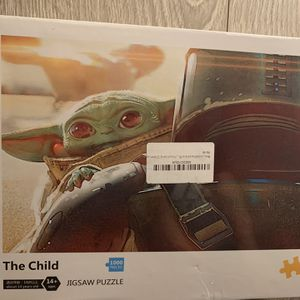 Baby Yoda_Star Wars 1000 Piece Puzzle for Sale in Rowland Heights, CA