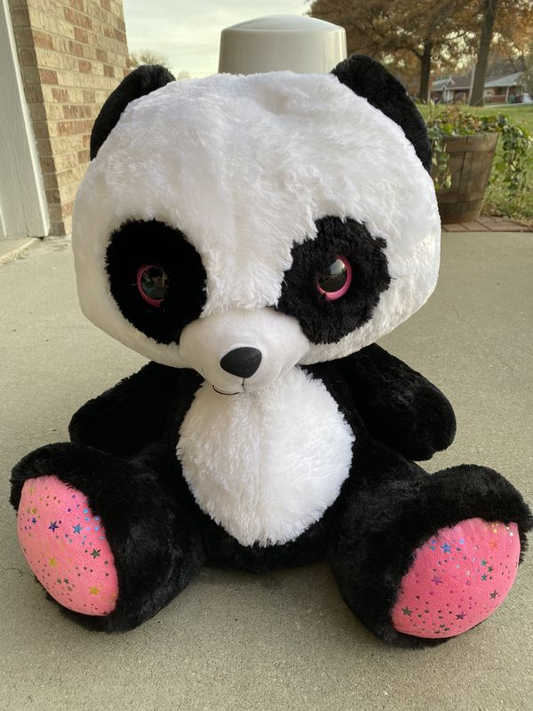 Huge stuffed panda bear