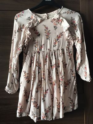 Mango floral pattern long sleeve dress for girls, 7/8 for Sale in Brooklyn, NY