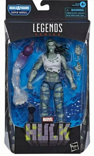 Marvel Legends She Hulk Collectible Action Figure Toy with Super Skrull Build a Figure Piece for Sale in Chicago, IL
