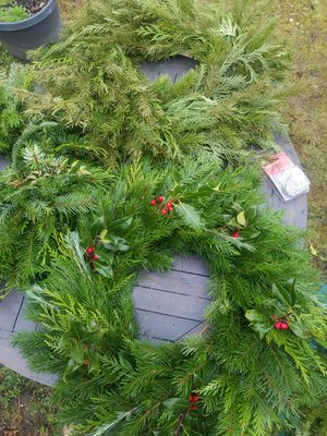 Handmade evergreen Christmas wreaths for Sale in Maple Valley, WA