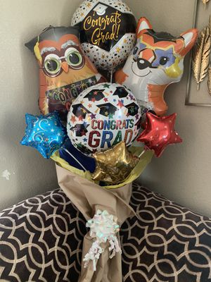 🎓Graduation 🎓 🎈balloon 🎈 💐bouquet 💐 💕 for Sale in Tracy, CA