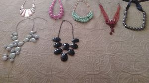 Beautiful necklaces for all occasion /collares lindos for Sale in Alexandria, VA