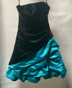 Teal/Black Prom Dress for Sale in Chesapeake, VA