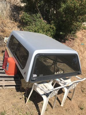 Leer Camper shell for Sale in Lakeside, CA