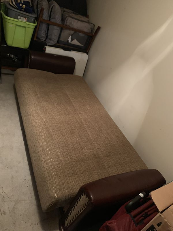New sofa bed/Futon with storage unit