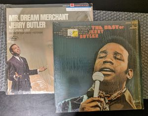 "2X12"" [LP LOT] Lot Jerry Butler: Mr. Dream Merchant + Best Of.. VG+/NM VINYL for Sale in Huntington Beach, CA"