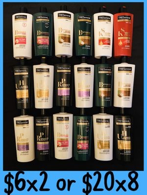 Tresemme shampoo and conditioner 2x$6 or 8x$20 for Sale in Los Angeles, CA