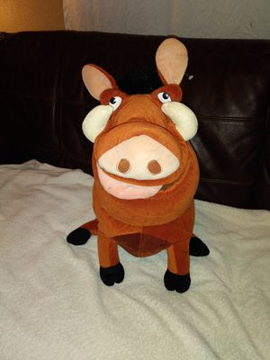 Disney Pumba Plush Stuffed Animal for Sale in Lakeland, FL