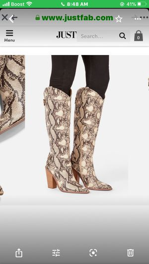 Beautiful boots for Sale in Lake Charles, LA
