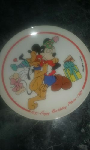 Disney plate for Sale in US