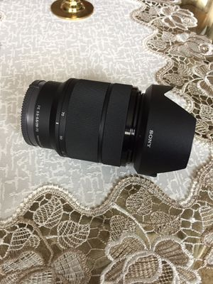 Sony lens. 28-70 for Sale in Chicago, IL