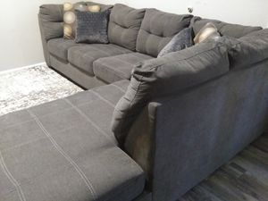NFM Gray Sectional Sofa for Sale in Garland, TX