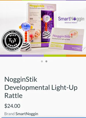 Speciality baby toy. NogginStik Developmental Light-Up Rattle $24 new for Sale in Portland, OR