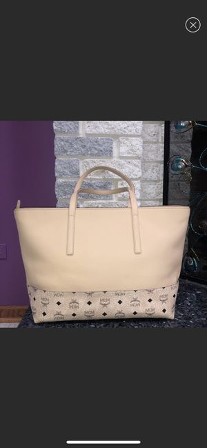 Mcm authentic handbag brand new with tags and dust bag for 495$ great deal never used perfect gift for Sale in Bellevue, WA
