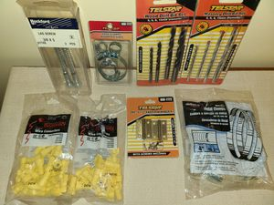 Drill bits, electrical plugs, clamps for Sale in New York, NY