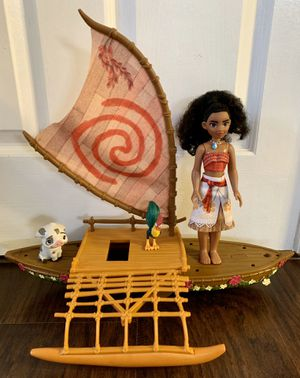Toys /Girls dolls and boat ⛵️ for Sale in Fontana, CA
