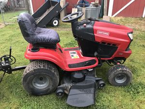 Craftsman riding lawn mower model vtwin3200 for Sale in Vacaville, CA