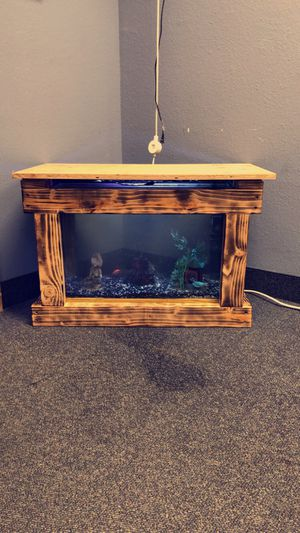 Custom Fish Tank Coffee Tables for Sale in Apple Valley, CA