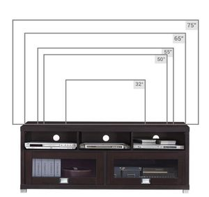 """tv stand console cabinet for tvs up to 75"""" for Sale in Schaumburg, IL"""