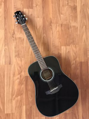 Beautiful & Clean Takamine G series GD30-BLK Dreadnought Acoustic Guitar, Black for Sale in Union City, CA