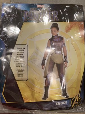Black Panther Shuri Halloween Costume Girls size Large for Sale in Orlando, FL